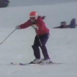 アルペンスキー選手の滑りに出る推進滑走を引き出す動作とは? 294