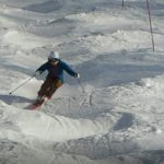 """スキーのコブ(不整地小回り)で使い分けたい""""はやい""""ターンの切り返え 298"""
