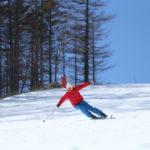 スキーで内側に傾く(内傾角)と内倒する原因は、●●を見極めていないから! 319